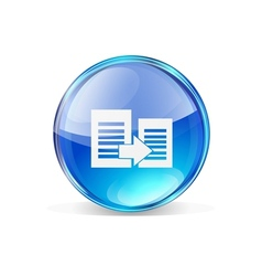 Icon copy vector
