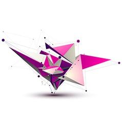 Magenta contemporary eps8 technology construction vector image