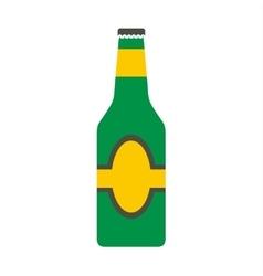 Bottle flat icon vector image