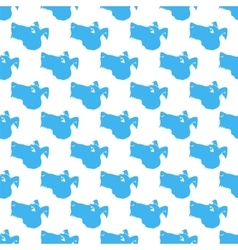 Dog Seamless Animal Pattern vector image vector image