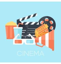 Cinema Poster vector image