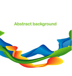 Abstract colorful shapes and lines background vector