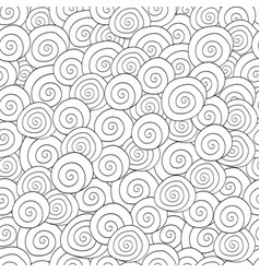 adult colouring book page vector image