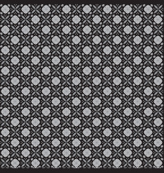 batik black and white texture and background good vector image