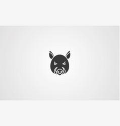 boar icon sign symbol vector image