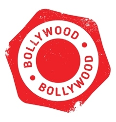 Bollywood stamp rubber grunge vector