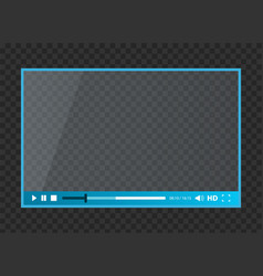 creative of web players for vector image