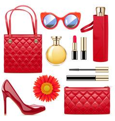 fashion accessories vector image