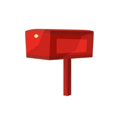 Image of mailbox vector image vector image