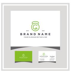 Letter c fitness leaf logo design and business vector