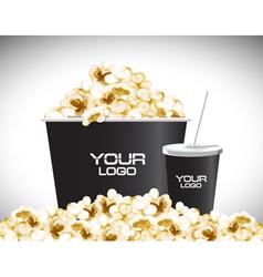 Movie popcon vector