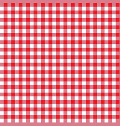 Red seamless table cloth texture vector