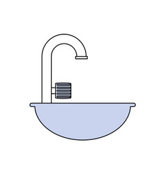 Bath symbol isolated vector