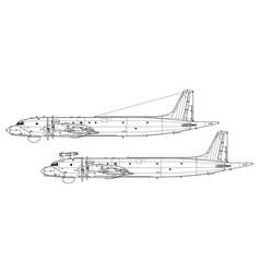 Ilyushin il-38 dolphin may vector