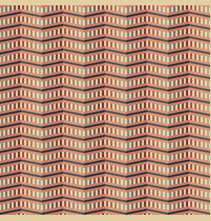 Zigzag pattern of multiple cells vector