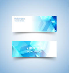 multipurpose layout design 4 vector image vector image