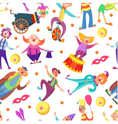 background for greeting cards seamless pattern vector image