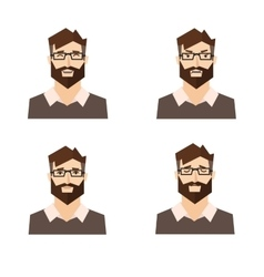 Different Emotions Man vector image vector image