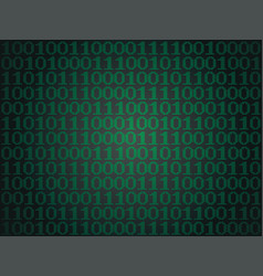 Binary computer code vector