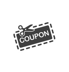 coupon icon images vector image