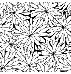 doodles in thin line art sketch style seamless vector image