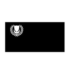 Flag kedah state malaysia state australia vector