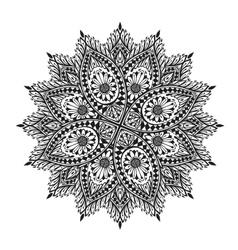 Mandala Decorative floral ornament vector image