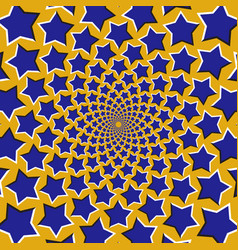 Optical stars fly apart circularly vector