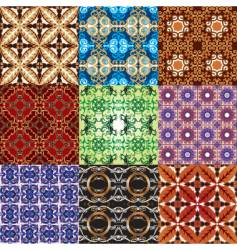 Ornament patterns vector