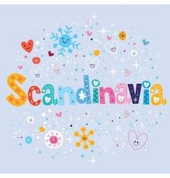 Scandinavia vector