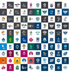 Set payment logos vector