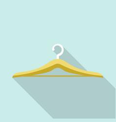shirt hanger icon flat style vector image