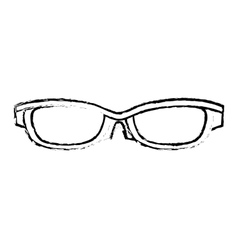 sunglasses accessorie travel sketch vector image