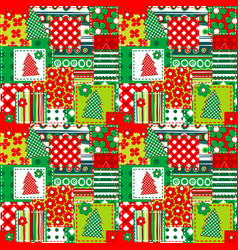 Wrapping paper for your christmas vector