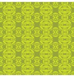 seamless floral frame vector image