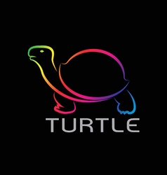 images of turtle design vector image vector image