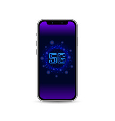 5g network wireless internet technology with 3d vector