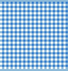 Blue seamless table cloth texture vector