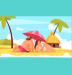 body positive background vector image