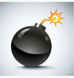 Bomb new vector image
