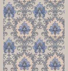Cornflowers vintage pattern vector