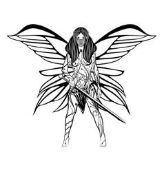 Girl fairy 2021 0004 vector