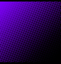 halftone dots background black dots on gradient vector image