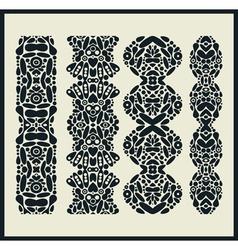 Kaleidoscope borders vector