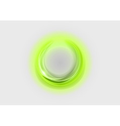 Neon light soft green vector