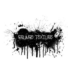 paint spray and splatter texture in grunge style vector image
