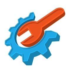 Repair cartoon icon vector image