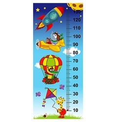 Sky height measure vector