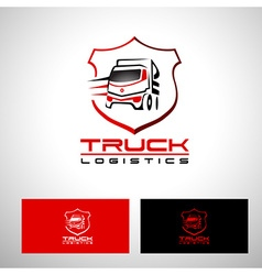 Transportation Truck Logo Design vector