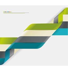 Modern spiral infographics options banner vector image vector image